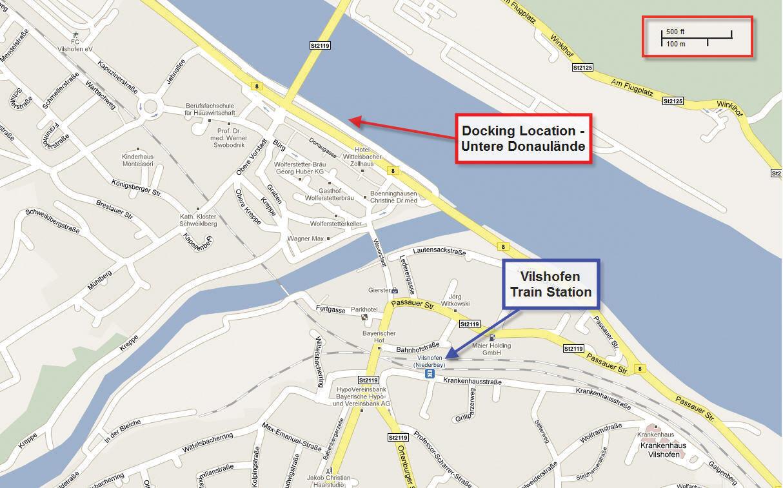 Vilshofen-Docking-Location